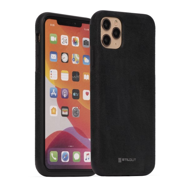 StilGut - iPhone 11 Pro Max Cover Alcantara