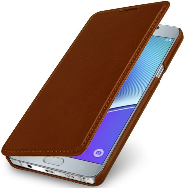 "StilGut - Galaxy Note 5 leather case ""Book Type"" without clip"