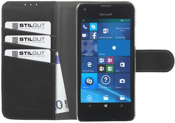 StilGut - Lumia 550 cover Talis with stand function