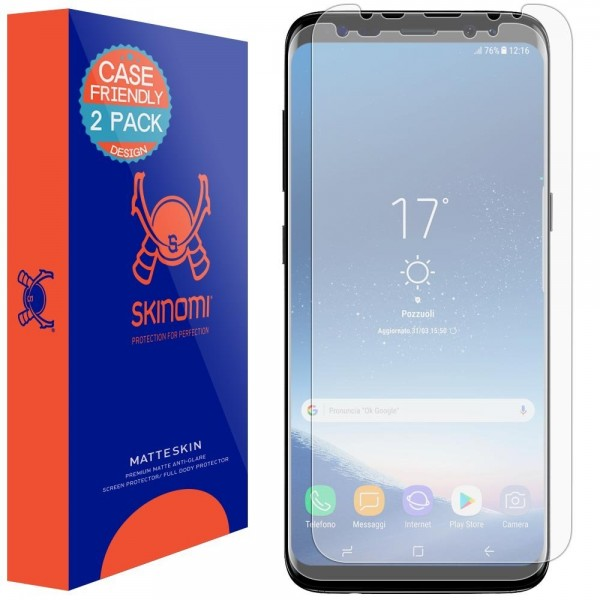 Skinomi - Samsung Galaxy S8 Screen Protector MatteSkin (set of 2)