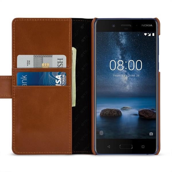 StilGut - Nokia 8 Cover Talis with Card Holder