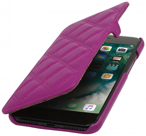 StilGut - iPhone 8 Cover Book Type with Clip Carat