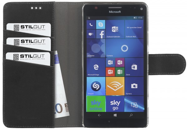 StilGut - Lumia 950 XL cover Talis with stand function