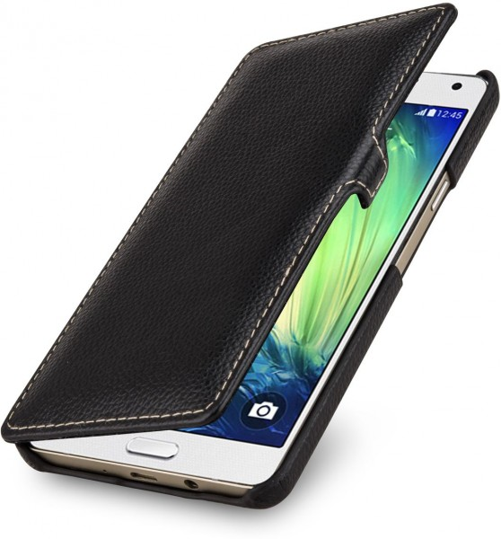 "StilGut - Galaxy A7 case ""Book Type"" with clip"