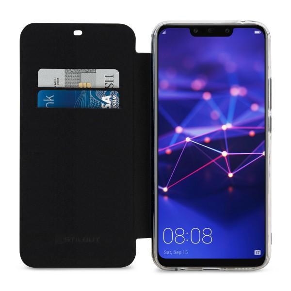 StilGut - Huawei Mate 20 lite Book Type NFC/RFID Blocking Case