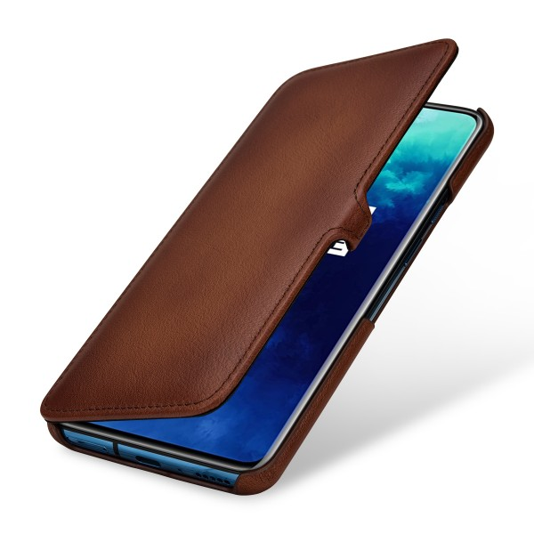 StilGut - OnePlus 7T Pro Cover Book Type with Clip