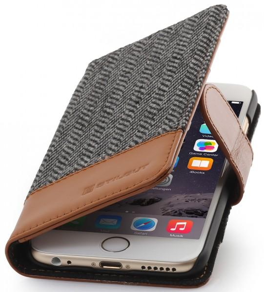 """StilGut - iPhone 6 leather case """"Talis"""", Fashion collection"""