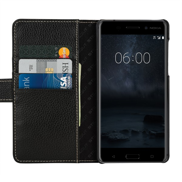 StilGut - Nokia 6 Cover Talis with Card Holder