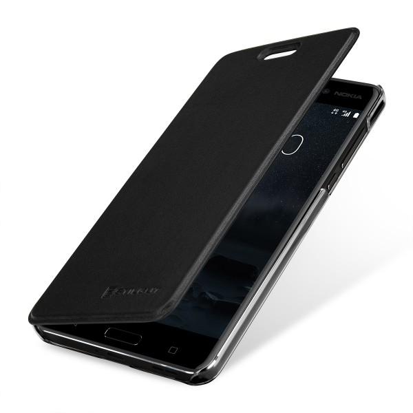 StilGut - Nokia 6 Book Type NFC/RFID Blocking Case