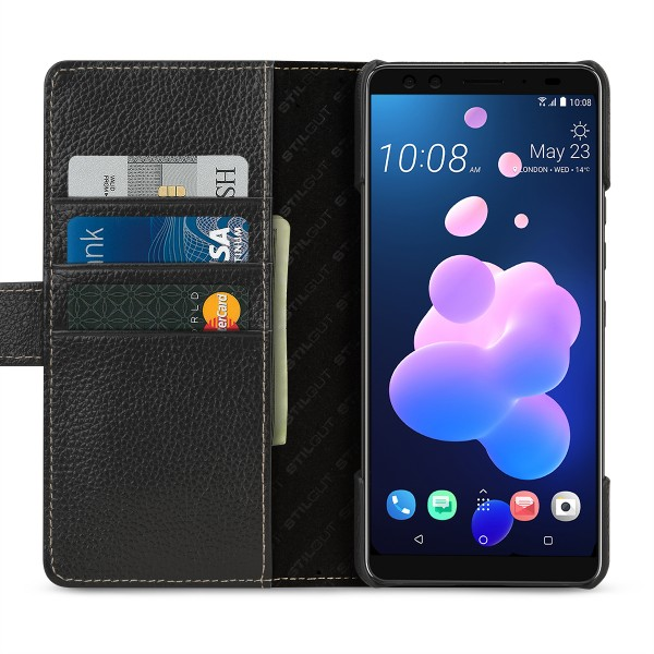 StilGut - HTC U12+ Cover Talis with Card Holder