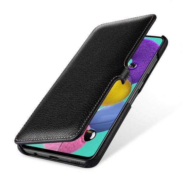 StilGut - Samsung Galaxy A51 Cover Book Type with Clip
