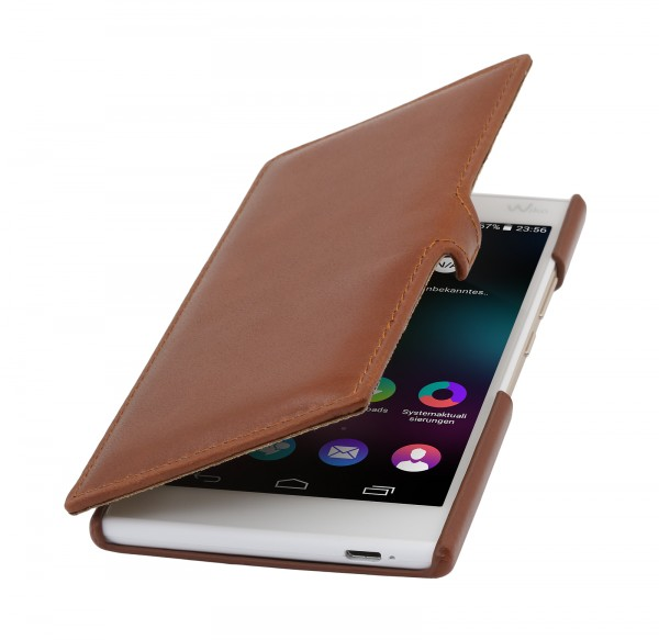 "StilGut - Wiko Ridge 4G case ""Book Type"" with clip"