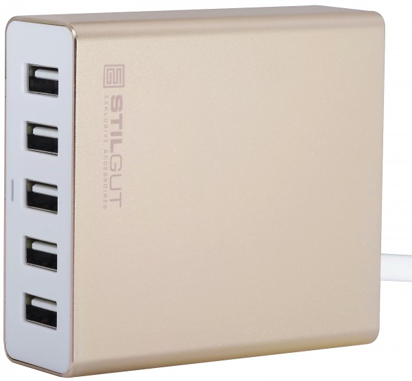 StilGut - 5-Port USB Charger