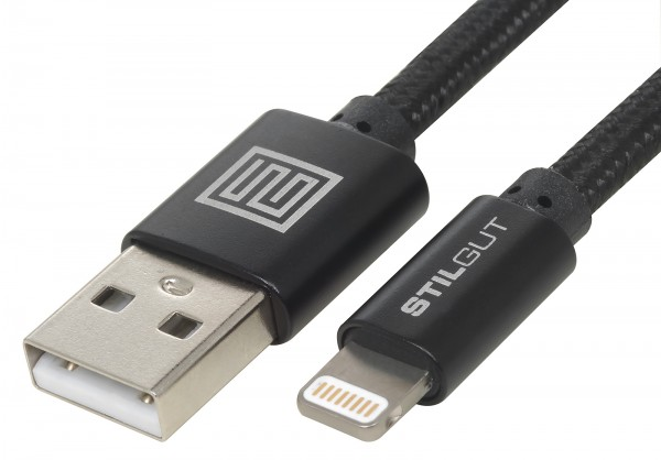 StilGut - Lightning cable Premium (Apple MFi certified) 1m