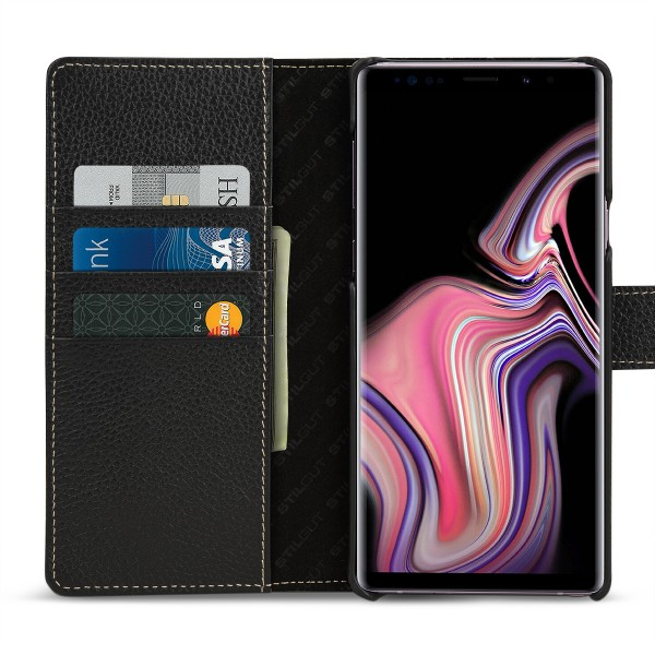 StilGut - Samsung Galaxy Note 9 Cover Talis with Card Holder