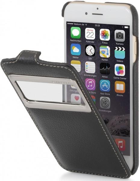 "StilGut - iPhone 6 leather case, ""UltraSlim"" with caller ID display"