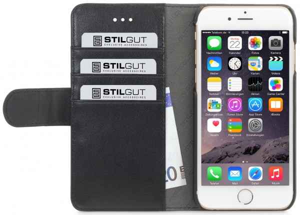 "StilGut - iPhone 6 Plus case ""Talis"" PU leather"