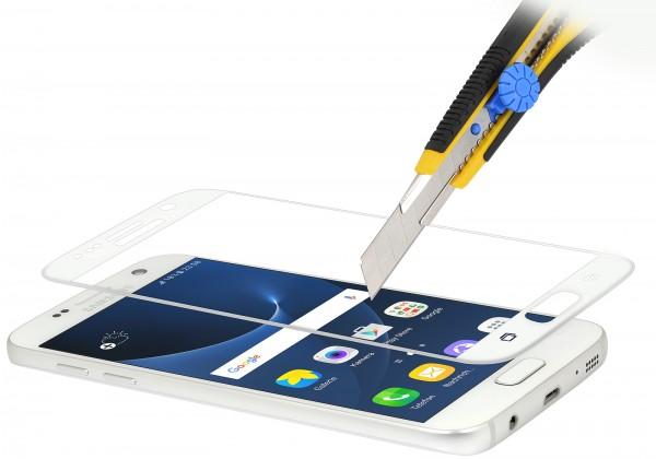 StilGut - Samsung Galaxy S7 Tempered Glass 3D curved (white)