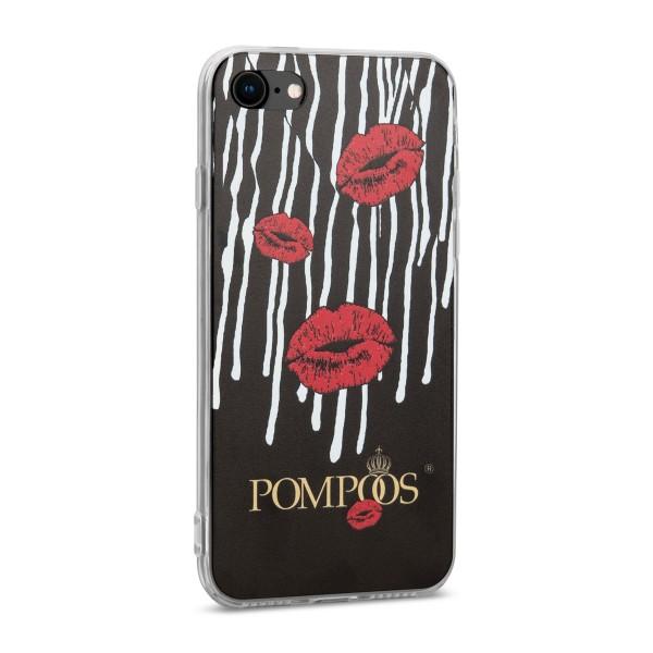 POMPÖÖS by StilGut - iPhone 7 Cover Kiss - Design by HARALD GLÖÖCKLER