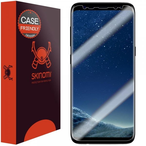 Skinomi - Samsung Galaxy S8 Screen Protector TechSkin