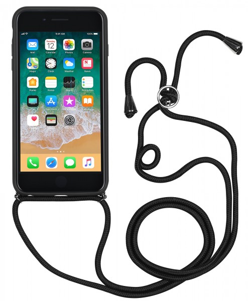 StilGut - iPhone 8 Plus Lanyard Case with Leather