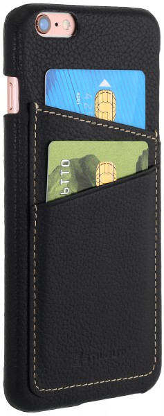 StilGut - iPhone 6 Plus cover in leather with card holder