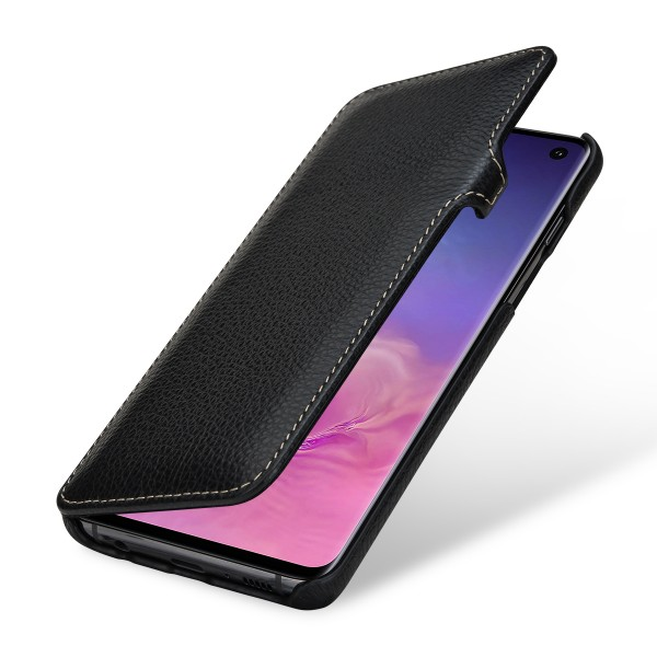 StilGut - Samsung Galaxy S10 Cover Book Type with Clip