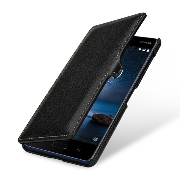 StilGut - Nokia 8 Cover Book Type with Clip