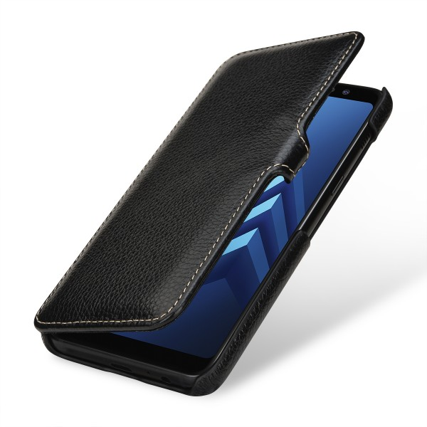 StilGut - Samsung Galaxy A8 (2018) Cover Book Type with Clip