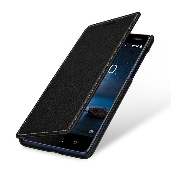 StilGut - Nokia 8 Cover Book Type without Clip