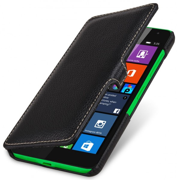 "StilGut - Microsoft Lumia 535 case ""Book Type"" with clip"
