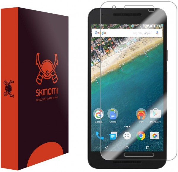 Skinomi - Nexus 5X screen protector TechSkin