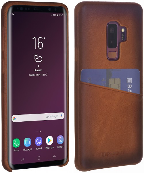 StilGut - Samsung Galaxy S9+ Cover with Card Holder
