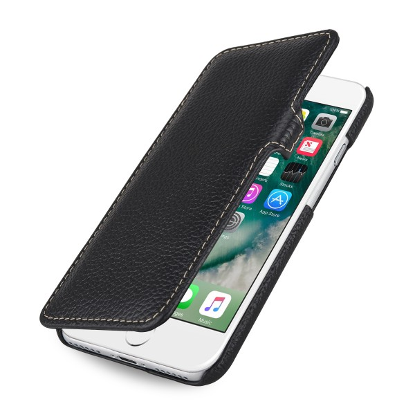 StilGut - iPhone 8 Cover Book Type with Clip