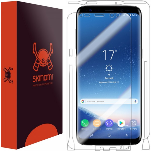 Skinomi - Samsung Galaxy S8+ Screen Protector Full Body