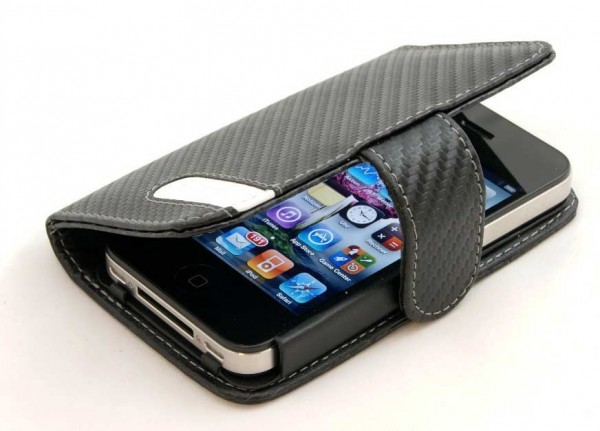 Exclusive iPhone 4 & 4s Carbon Style case by StilGut