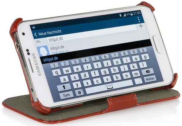 StilGut - UltraSlim Case V2 with stand function for Samsung Galaxy S5
