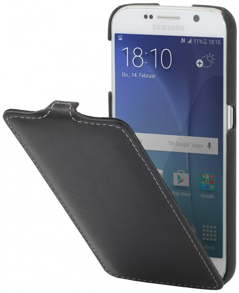 "StilGut - Samsung Galaxy S6 leather case ""UltraSlim"""