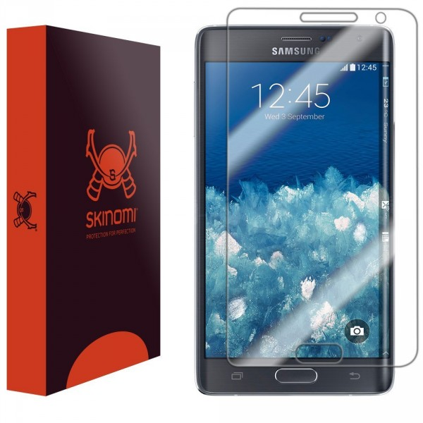 Skinomi - Screen protector for Galaxy Note edge TechSkin