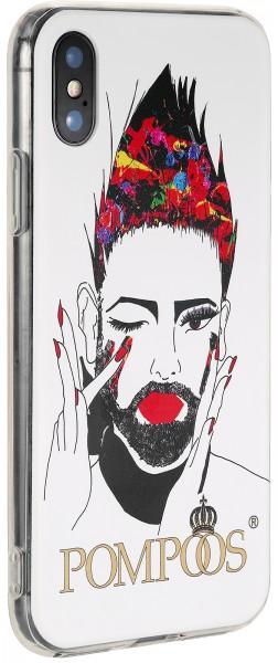POMPÖÖS by StilGut - iPhone X Cover Portrait - Design by HARALD GLÖÖCKLER