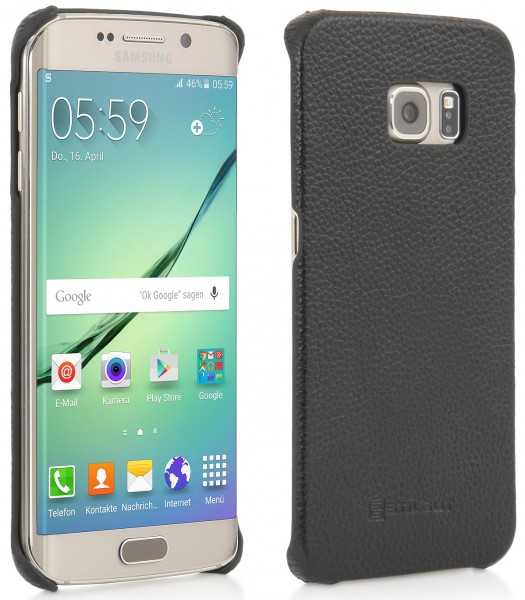 "StilGut - Galaxy S6 edge leather case ""Cover Type"""