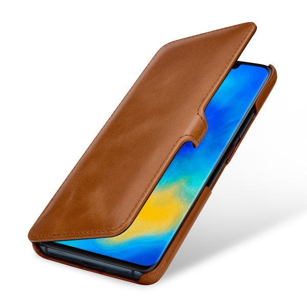StilGut - Huawei Mate 20 Pro Cover Book Type with Clip