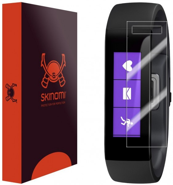 Skinomi - Screen protector for Microsoft Band (set of 6) TechSkin