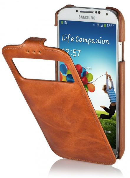 StilGut - UltraSlim case with caller ID for Galaxy S4 i9500 and i9505