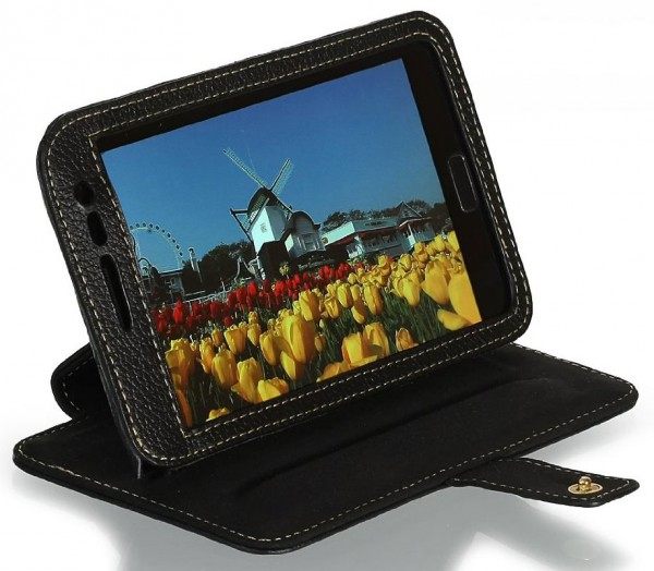 StilGut - Exclusive leather case with stand-up for Galaxy Note N7000