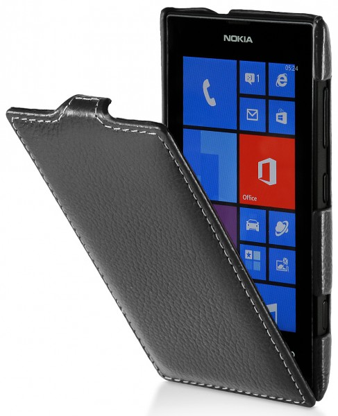 StilGut - UltraSlim Case made from leather for Nokia Lumia 520