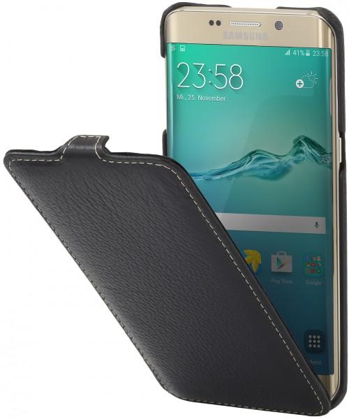 """StilGut - Galaxy S6 edge+ leather case """"UltraSlim"""""""