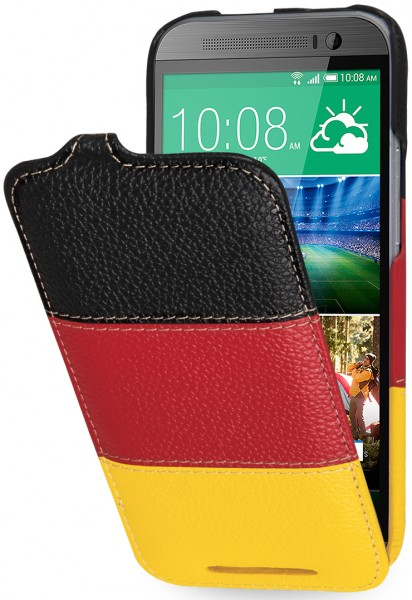 "StilGut - UltraSlim case ""German Edition"" for HTC One M8 / M8s"