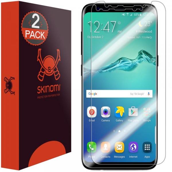 Skinomi - Samsung Galaxy S8 Screen Protector TechSkin Edge to Edge (set of 2)