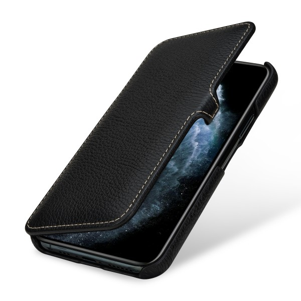 StilGut - iPhone 11 Pro Cover Book Type with Clip